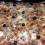 recette pizza au thon et saumon
