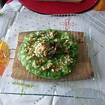 recette filet de lieu   au beurre de noisettes et son écrasé  de pommes de terre au  fanes de radis  de   nathalie  détail!