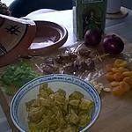 recette Tajine d'agneau aux dattes et abricots