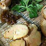recette FOIE  GRAS CUIT AU GROS SEL (inratable)