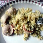 recette boulgour gros a la saucisse alsacienne