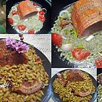 recette Rôti kassler aux flageolets.