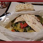 recette Papillotes de Poissons aux Poivrons et Courgette