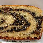 Gâteau roulé au pavot