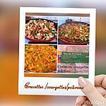 recette Mijoté de Crevettes/Courgettes et poivrons