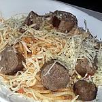 recette Spaghettis a la saucisse italienne