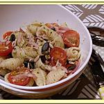 recette Salade de Pâtes Pesto-Citron