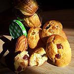 recette Madeleines au fruit confit