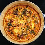 recette Poulet bon pour le bedon aux chorizos, aux haricots blancs