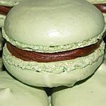 recette Macarons matcha carambar