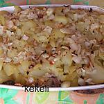 recette Gratin de pomme de terre au jarret de porc