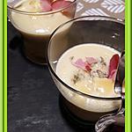 recette Velouté de Chou-fleur à la fourme persillée.