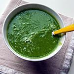 recette Soupe de topinambours et fanes de radis