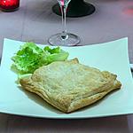 recette Feuilleté de saumon aux champignons