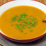 recette Soupe de potimarron aux châtaignes