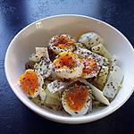 recette petite salade composée