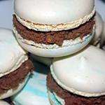 recette Macarons ganache chocolat au lait