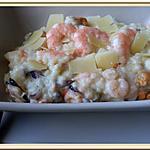 recette Risotto aux fruits de mer et Crevettes