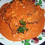 recette Tranche de thon au curry
