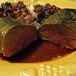 recette magrets de canard aux fruits rouges