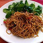 recette wok porc légumes et nouilles chinoises