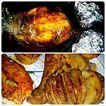 recette Poulet rôti en papillote