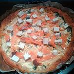 recette Tarte à la feta & saumon
