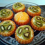 recette Tartelettes au kiwi