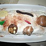 recette Bûche à la mousse de Nutella