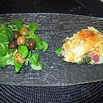recette tarte  feuilletée  maches, endives;  etc  idée d olivier gauthier