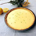 recette Tarte aux deux citrons, pâte croustillante à la noisette