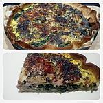 recette tarte épinard et lardons