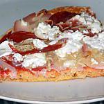 recette Pizza pepperoni dukan