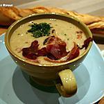 recette Velouté de Champignons de Paris