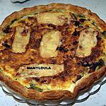 recette Tarte aux poireaux, maroilles et lard fumé