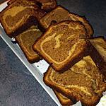 recette Cake marbré praliné