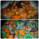 recette Petits pois carottes à la sauce tomates