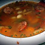 recette Soupe aux 2 haricots  (coco et verts)