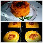 recette Mille-feuille de potiron et canard confit