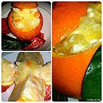 recette Oranges givrées