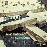 recette NOUGAT BLANC au thermomix