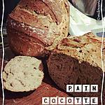 recette PAIN COCOTTE AUX CÉRÉALES