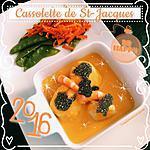 recette CASSOLETTE DE SAINT-JACQUES