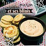 recette TARAMA ET SES MINI-BLINIS