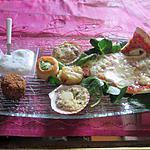 recette falafels du  blog  de samar ,  sur plateau apéritif, ;;;;;;apérigaufres saveur welsch!