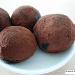 recette Truffes douceur au chocolat noir