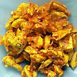 recette Poulet tikki massala (compatible dukan)