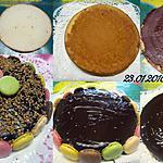 recette Gâteau crème moka.aux macarons.