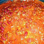recette Chili con carné rapide