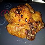 recette Poulet rôti farcis au chorizo et à l'ail